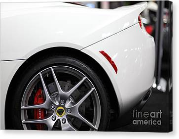 2012 Lotus Evora - 5d20203 Canvas Print by Wingsdomain Art and Photography