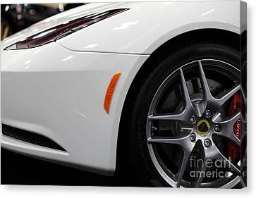 2012 Lotus Evora - 5d20206 Canvas Print by Wingsdomain Art and Photography