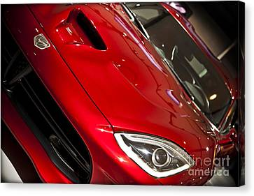 2013 Dodge Viper Srt Canvas Print by Kamil Swiatek
