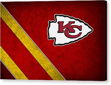 Kansas City Chiefs Canvas Print by Joe Hamilton