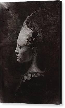 Secret Canvas Print by Victor Slepushkin