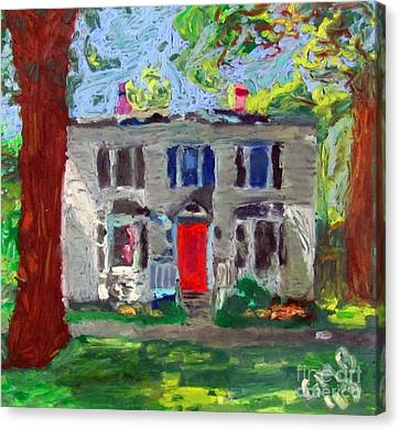 22 Atlantic Ave Canvas Print by Greg Mason Burns