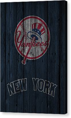 New York Yankees Canvas Print by Joe Hamilton