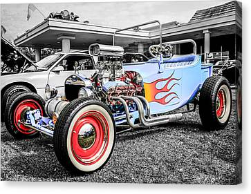 23 Rod Canvas Print by Chris Smith