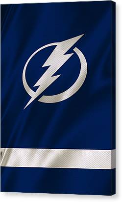 Tampa Bay Lightning Canvas Print by Joe Hamilton