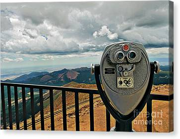 25 Cent Views Canvas Print by Charles Dobbs