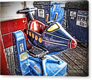 25 Cents Canvas Print by Christina Perry