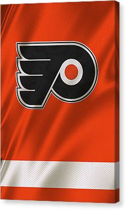 Philadelphia Flyers Canvas Print by Joe Hamilton