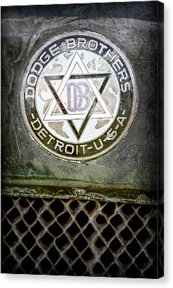 1923 Dodge Brothers Depot Hack Emblem Canvas Print by Jill Reger