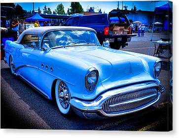 1954 Buick Century Convertible Canvas Print by David Patterson