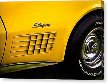 1971 Chevrolet Corvette Stingray Canvas Print by David Patterson