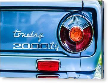 1972 Bmw 2000 Tii Touring Taillight Emblem -0182c Canvas Print by Jill Reger