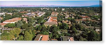 Aerial View Of Stanford University Canvas Print by Panoramic Images