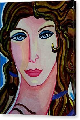 Aphrodite Canvas Print by Nikki Dalton