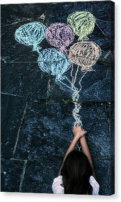 Balloons Canvas Print by Joana Kruse