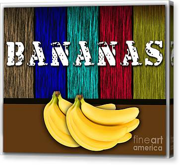 Bananas Canvas Print by Marvin Blaine