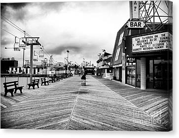 Before The Crowds Canvas Print by John Rizzuto