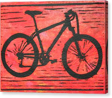 Bike 10 Canvas Print by William Cauthern
