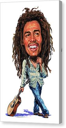 Bob Marley Canvas Print by Art
