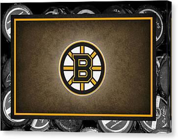 Boston Bruins Canvas Print by Joe Hamilton