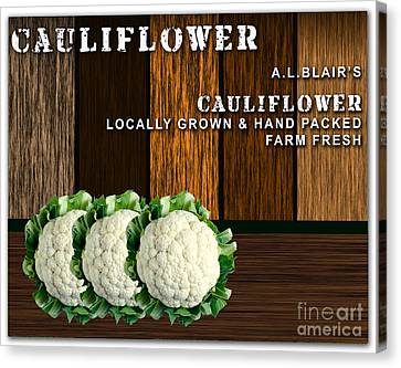 Cauliflower Farm Canvas Print by Marvin Blaine