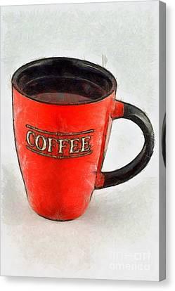 Coffee Canvas Print by George Atsametakis