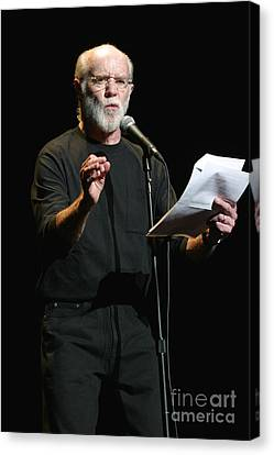 Comedian George Carlin Canvas Print by Front Row  Photographs