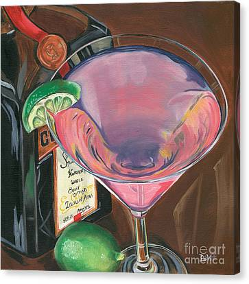 Cosmo Martini Canvas Print by Debbie DeWitt
