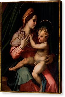 Dagnolo Andrea Known As Andrea Del Canvas Print by Everett