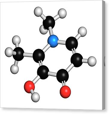 Deferiprone Thalassaemia Major Drug Canvas Print by Molekuul