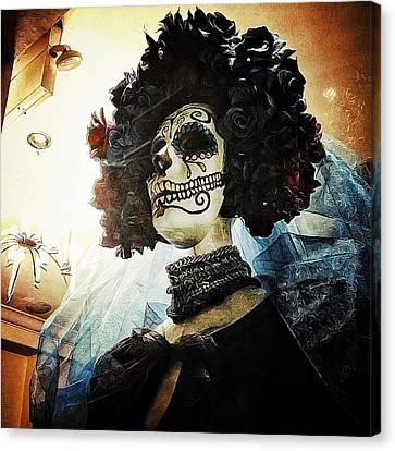 Dia De Los Muertos Canvas Print by Natasha Marco