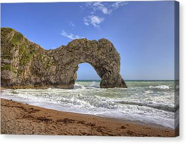 Durdle Door Canvas Print by Joana Kruse