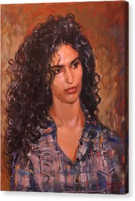 Erbora Canvas Print by Ylli Haruni