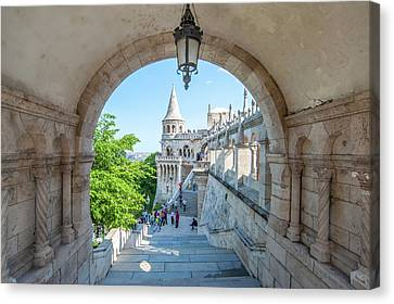 Europe, Hungary, Budapest, Fisherman's Canvas Print by Jim Engelbrecht