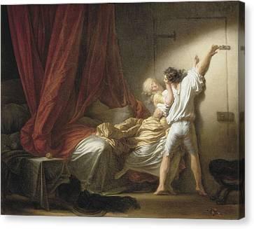 Fragonard, Jean Honor� 1732-1806. The Canvas Print by Everett