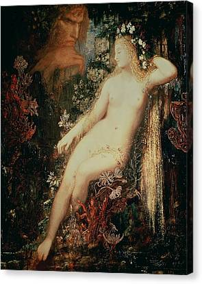 Galatea Canvas Print by Gustave Moreau