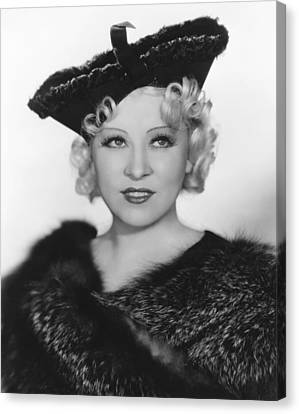 Go West Young Man, Mae West, 1936 Canvas Print by Everett
