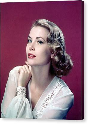 Grace Kelly Canvas Print by Silver Screen