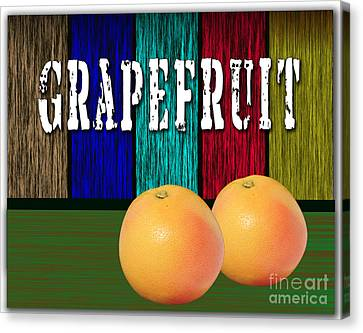 Grapefruit Canvas Print by Marvin Blaine