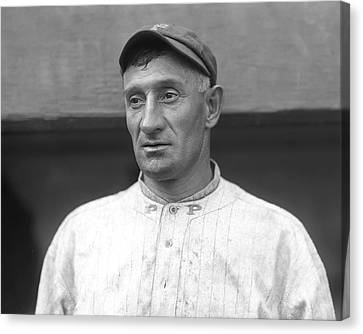 Honus Wagner Pittsburgh Pirates Canvas Print by Retro Images Archive