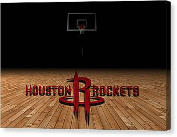 Houston Rockets Canvas Print by Joe Hamilton