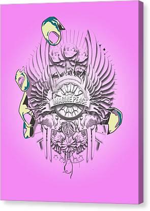 Imagine Lennon Canvas Print by Pop Culture Prophet