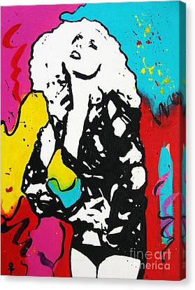 Lady Gaga Canvas Print by Venus