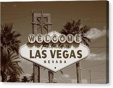 Las Vegas Canvas Print by Frank Romeo