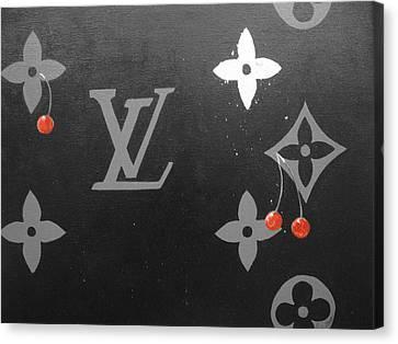 Louis Vuitton  Canvas Print by Robert Cunningham
