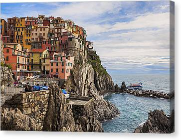 Manarola Canvas Print by Joana Kruse