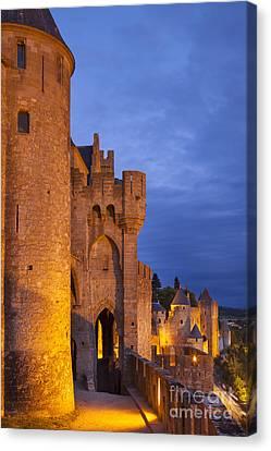 Medieval Carcassonne Canvas Print by Brian Jannsen