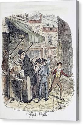 Oliver Twist, 1837-38 Canvas Print by Granger