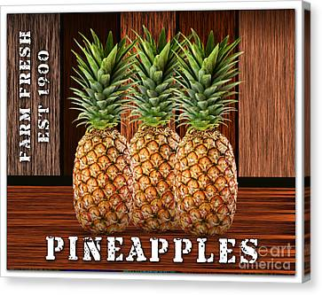 Pineapple Farm Canvas Print by Marvin Blaine