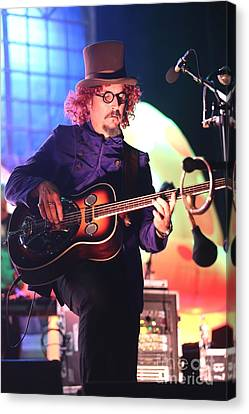 Primus Les Claypool  Canvas Print by Front Row  Photographs